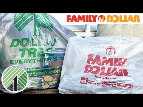 DOLLAR TREE + FAMILY DOLLAR HAUL...I FOUND $1 CLEARANCE CLOTHES!!!🔥
