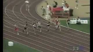 Tony Volpentest, world record T43, 11.36 sec, Paralympics 1996 Atlanta 100m