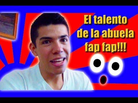 El talento de la abuela fap fap (video reacción)
