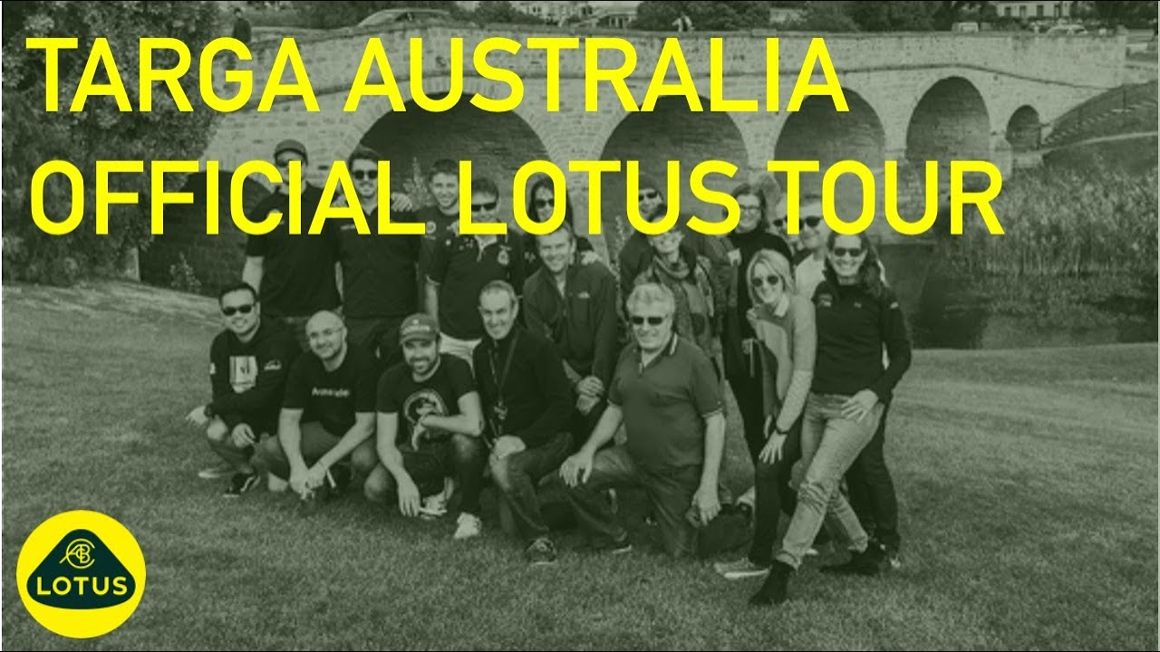 The Official Lotus Tour at Targa Australia