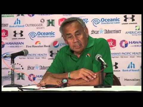 Norm Chow Post-Game Press Conference vs. Nevada 10-25-14