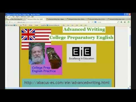 College Prep English at EIE May 15, 2014