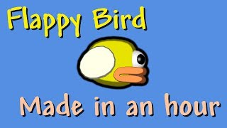 Making Flappy Bird in 1 hour