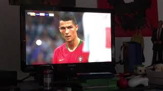 Ronaldo free kick vs Spain Russia World Cup 2018