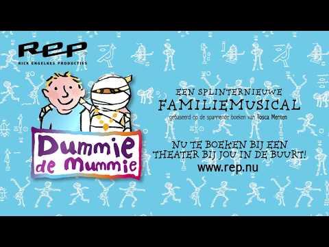 Dummie de mummie de musical - Officiële trailer