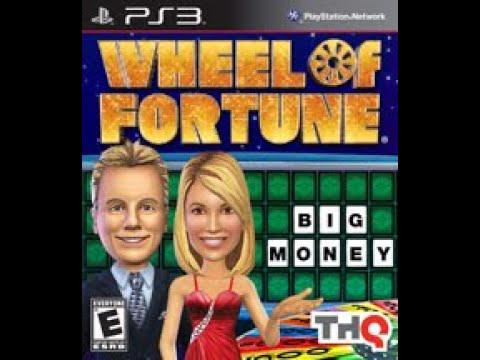 PS3 Wheel of Fortune ORIGINAL RUN Game #1
