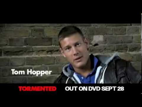 TORMENTED   Tom Hopper promoting film and naked shower scene!