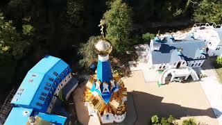 Монастырь в Галицыно с высоты птичьего полёта