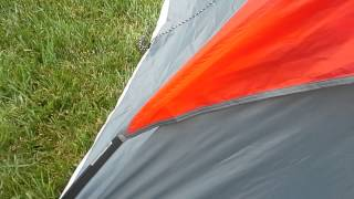 Ozark trail 4-person dome tent set up (not instant