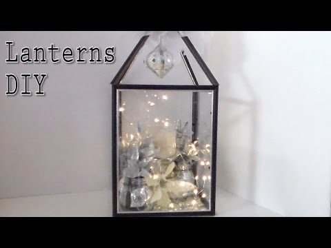 Craft DIY : Big $5  DIY Lanterns / Cup n Cakes Gourmet