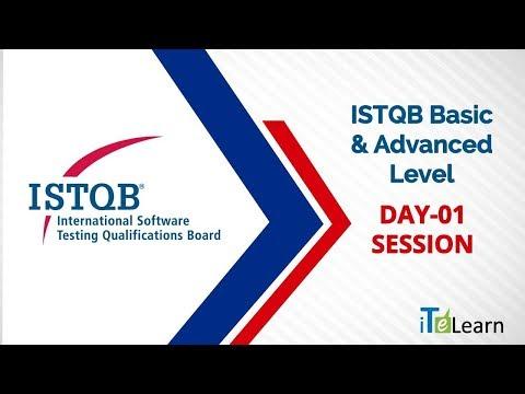 ISTQB Basic & Advanced Level Day 01  -  ITeLearn