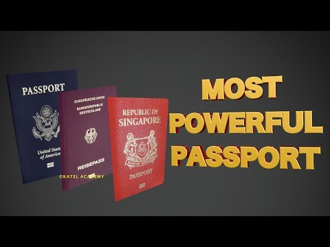 10 Most Powerful Passports - 2018