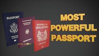 10 Most Powerful Passports - 2018