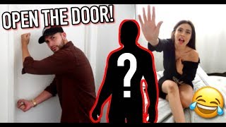 CHEATING WITH THE DOOR LOCKED PRANK ON BOYFRIEND *HE WAS MAD*
