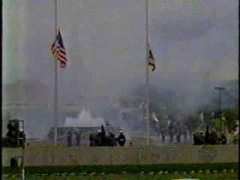 Richard Nixon Funeral (12): 21 Gun Salute, Taps, Graveside remarks