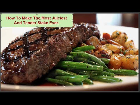 How To Make The Most Juiciest And Tender Steak In A Skillet Under 30Mins