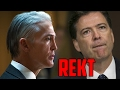 Trey Gowdy Snaps Hard to James Comey 'You're a Weasel!' Comey Reacts Triggered!