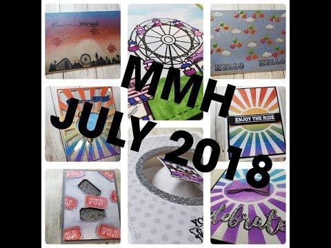 10 Cards 1 Kit: My Monthly Hero Arts July 2018 Kit