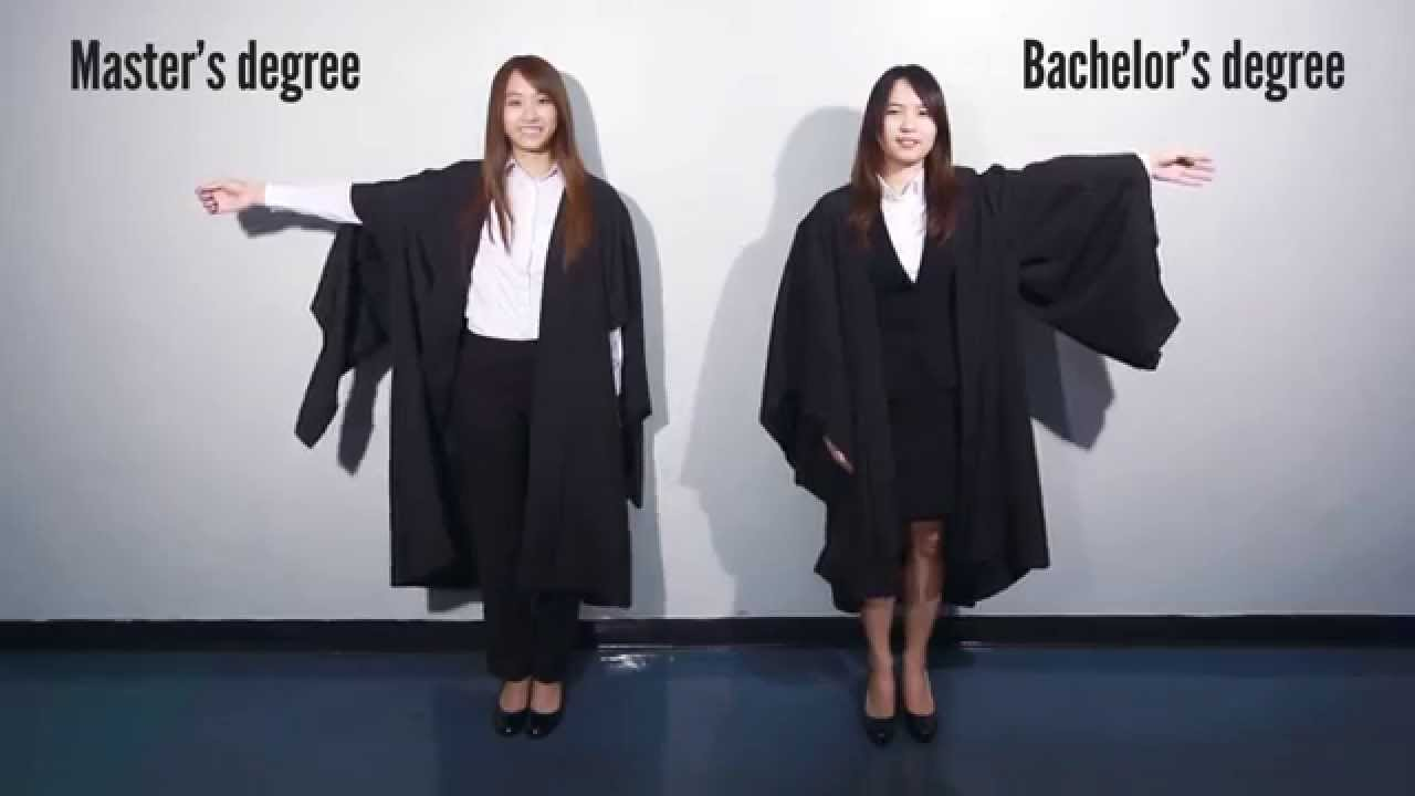 Academic Dress For Graduation Ladies Version Youtube