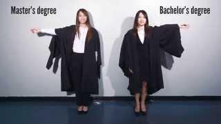 Academic Dress for Graduation (Ladies Version)