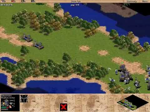 Age of Empires - Babylon Mission 5 - The Great Hunt - Playthrough