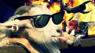 ÊTRE UNE CHÈVRE, ÊTRE UN GANGSTER ! - Goat Simulator thumbnail