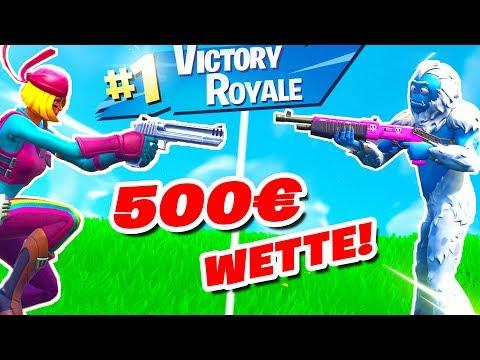 500€ 1v1 Turnier in Fortnite gegen Sevel!