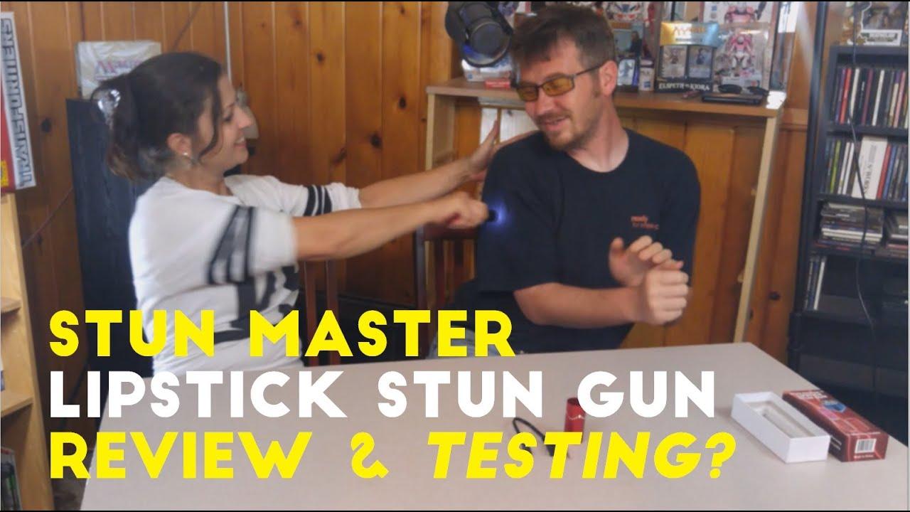 Stun Master Lipstick Stun Gun - Unboxing, Review, and Testing?