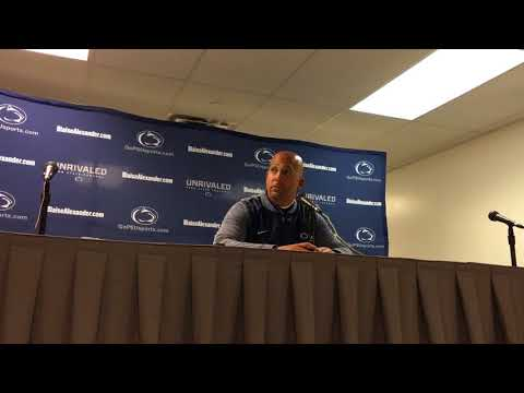 Penn State coach James Franklin after loss to Ohio State