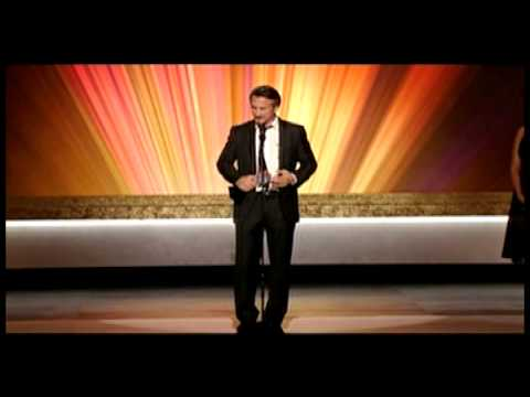 """Sean Penn Accepting Critics' Choice Award for """"Milk"""""""