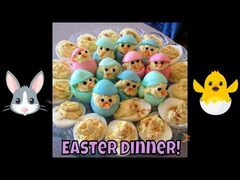 Easter Dinner Ideas! Yummy And Creative Food!