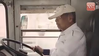 Adenan makes appearance as bus driver in BN campaign video
