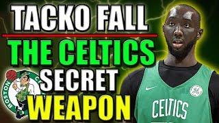 Meet The Boston Celtics Secret Weapon! 7'6 GIANT Tacko Fall