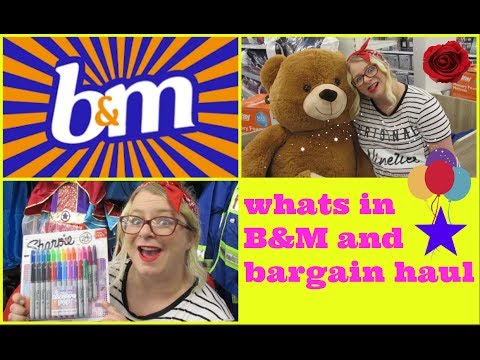 WHATS IN B&M and BARGAIN HAUL!