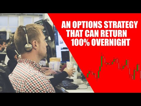 An Options Strategy That Can Return 100% Overnight
