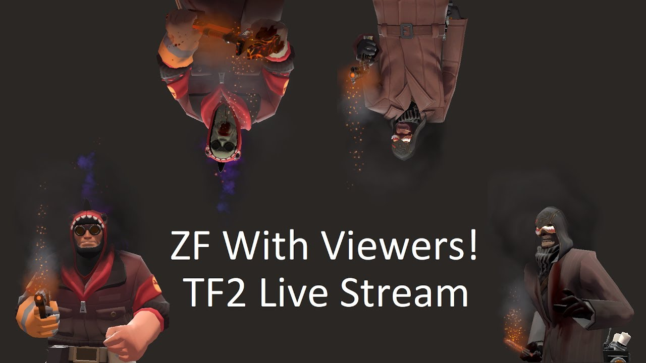 TF2: Zombie Fortress Stream with Viewers #1 - YouTube