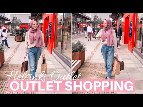 Shopping Day at Helsinki Outlet Village