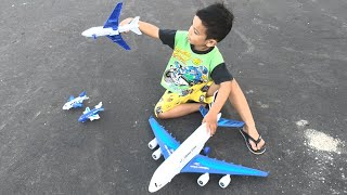 Mainan anak Pesawat Balapan Zefa  🧡 child toy racing aircraft