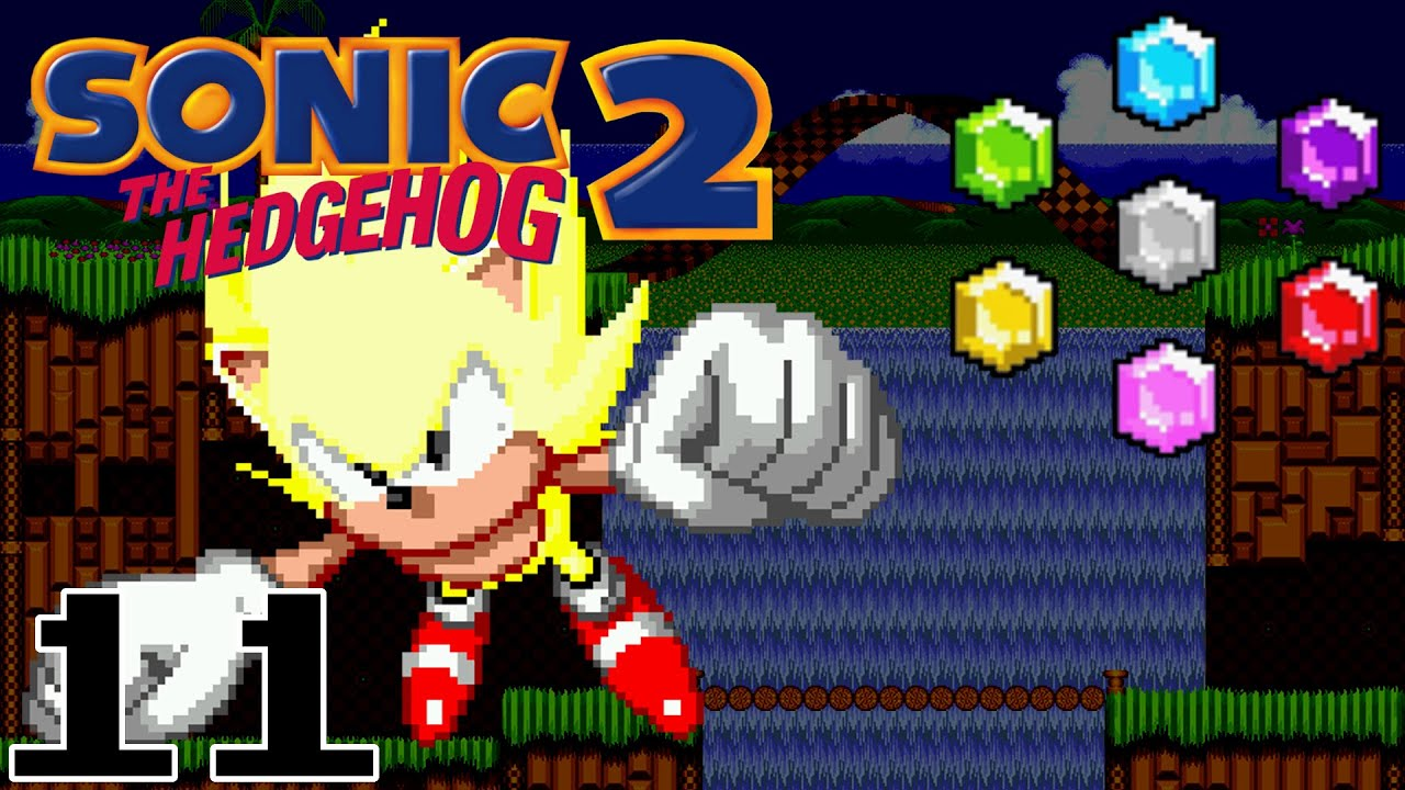 Sonic the Hedgehog 2 Remastered (11) - 7 Chaos Emeralds