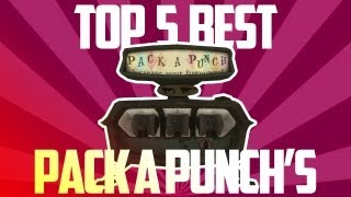 Top 5 Best Pack A Punch Weapons- Black Ops 2 ZOMBIES!