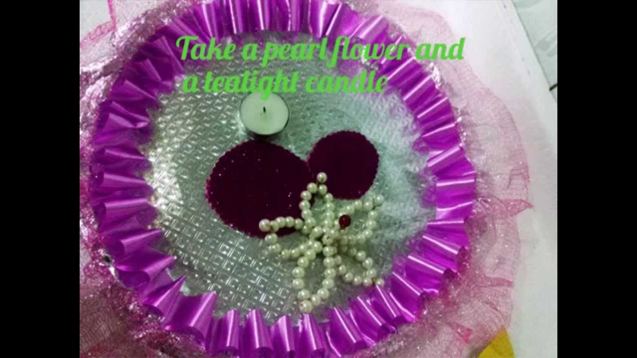 How to decorate a wedding tray diy youtube how to decorate a wedding tray diy junglespirit Images