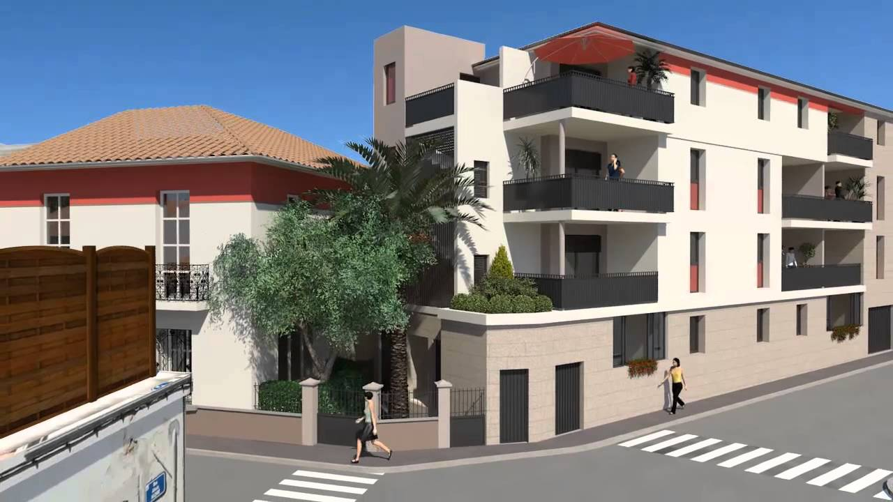 Appartement neuf centre ville montpellier rouge caf youtube - Location studio meuble montpellier centre ville ...