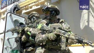 В Крыму проходят учения спецназа ФСБ