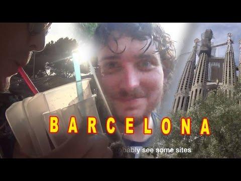 Backpacking Europe - Barcelona