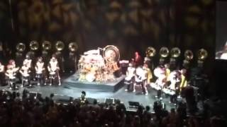 Mick Fleetwood of Fleetwood Mac with USC Marching Band Will Ferrell Quinceanera