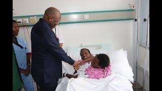 TBC1: Rais Magufuli Awalilia Mapacha Consolata na Maria