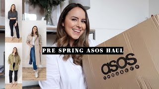 ASOS BASICS HAUL & TRY ON | FEBRUARY 2020 | Laura Melhuish-Sprague