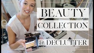 HUGE BEAUTY DECLUTTER // Getting rid of HALF my Makeup!! // Fashion Mumblr