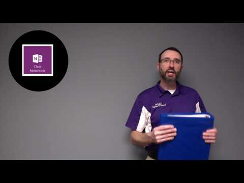 Creating OneNote Class Notebooks #1 - Use Canvas LMS to Create OneNote Class Notebooks