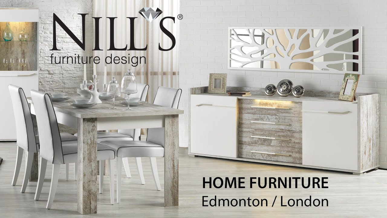London Furniture Design Nill's Furniture Edmonton  Home Furniture London  Youtube